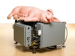 Paul McCarthy: Mechanical Pig, 2005/ Foto: Mischa Nawrata, Wien (c) Paul McCarthy