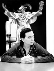 Portrait Deborah Sengl (c) Ingo Pertramer