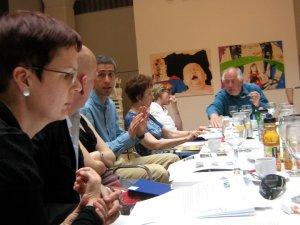 Essl Art Award Jury Sitzung in Budapest - Foto: Erwin Uhrmann