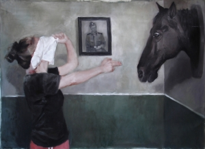 Theodora Axente - I shot the horse (c) foto courtesy the artist
