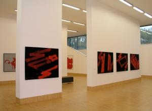 """Markus Prachensky - Ausstellungsansicht """"Frühe und Späte Werke"""", 2007, Foto: Sammlung Essl Privatstiftung"""