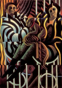 """Wolfgang Herzig: Aus dem Zyklus """"Der Verlierende Sohn"""", Glückstrug, 1990-1991 © Wolfgang Herzig, Fotonachweis: Franz Schachinger, Wien (Leihgabe)"""