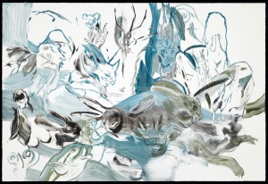 "Cecily Brown - New Works  ""Untitled"", 2012 © Cecily Brown Courtesy Gagosian Gallery. Photography by Robert McKeever"