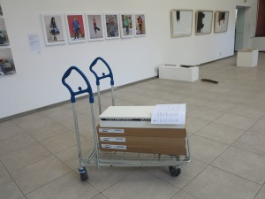 If you might wonder what an IKEA cart has got to do with contemporary art, come to see the final exhibition >Transcending Cultures< and experience EAA Bulgaria winner Zoran Georgiev's critical approach.