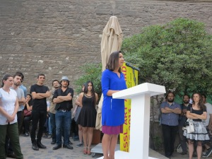 …with a fantastic outdoor opening ceremony in front of the venerable walls of Tophane-i Amire