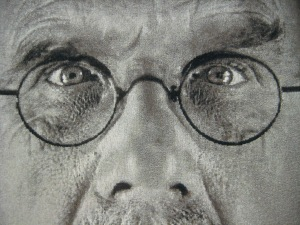 Chuck Close, Self-Portrait (Detail), 2009, Foto: Günther Oberhollenzer