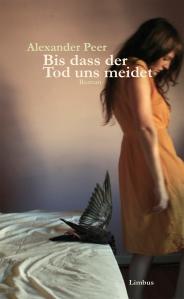 """Buchcover """"Bis dass der Tod uns meidet"""""""