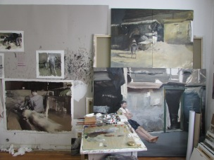 Atelier Alin Bozbiciu in Cluj, Foto: Günther Oberhollenzer