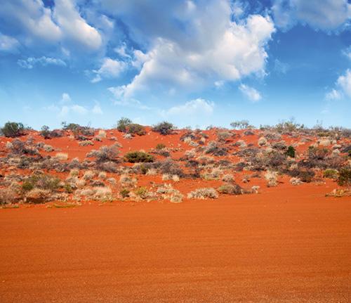 Landschaft im australischen Outback; Foto: Fotolia.com © jovannig