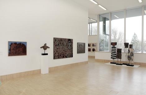 Ausstellungsansicht Peter Pongratz © Sammlung Essl, 2015