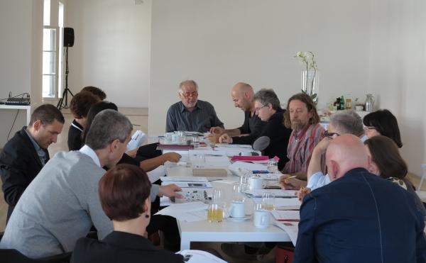 Discussing on site in Slovenia, EAA 2013, Sammlung Essl, Klosterneuburg/Wien