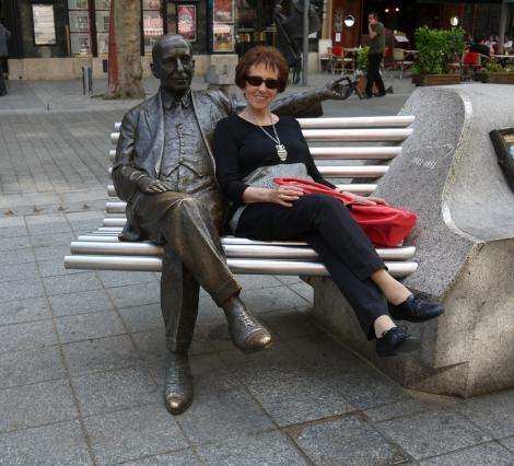Patroness Prof. Agnes Essl in Budapest, EAA 2013, © Sammlung Essl, Klosterneuburg/Wien