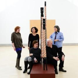 Das Kunstvermittlungsteam des Essl Museums, 2016