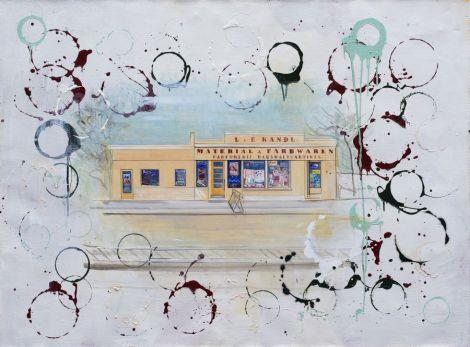 Johanna Kandl, O.T. (Farbhandlung), 2009, Tempera und Ölfarbe auf Leinwand, 115 x 150 cm , Courtesy die Künstlerin, Foto: Farid Sabha, Wien