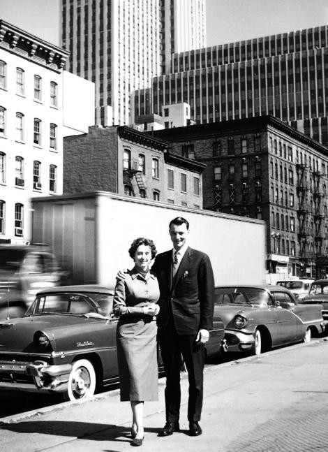 Agnes und Karlheinz Essl in New York in den 1950er Jahren. (c) Sammlung Essl Privatstiftung