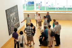 Gruppenführung im Essl Museum, 2012